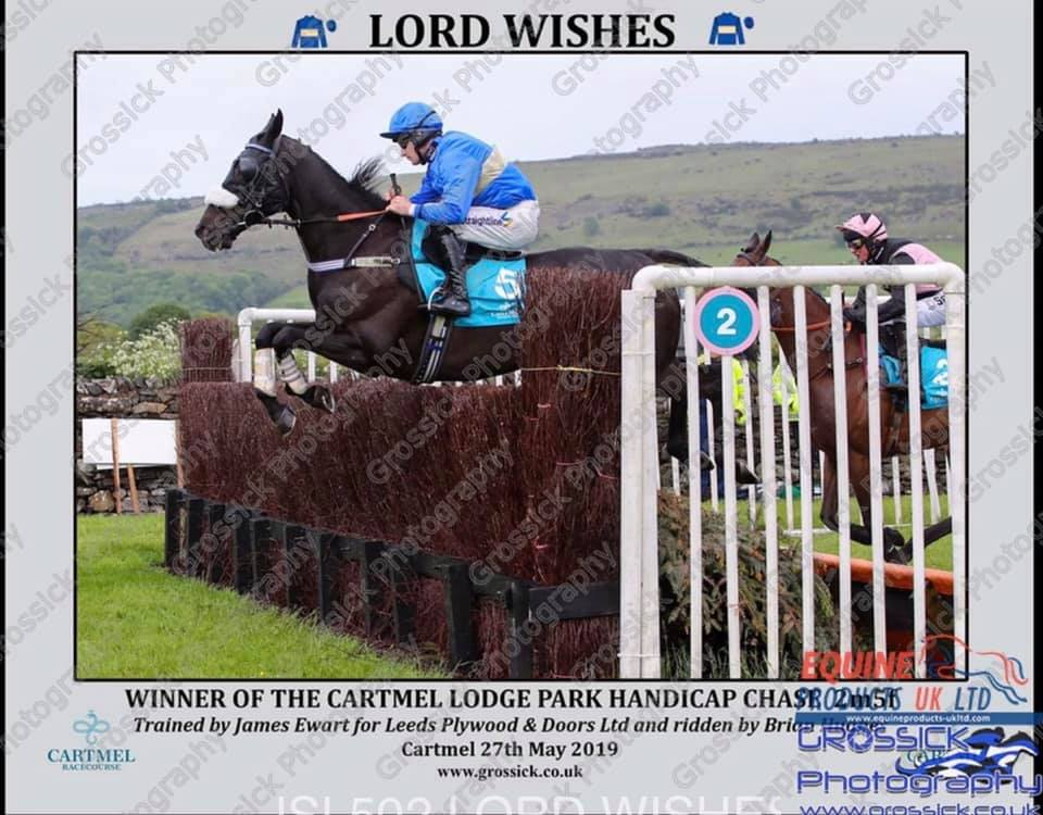 Lord Wishes Cartmel jumping